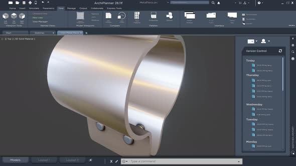 Technisches Design von Maschinenbauwerkzeugen