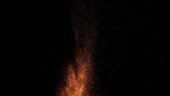 Thumbnail for Sparks on Black Background