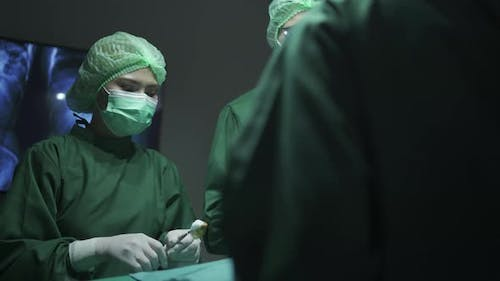 surgeon doctor team working surgical health care in hospital operation room, disease medicine health