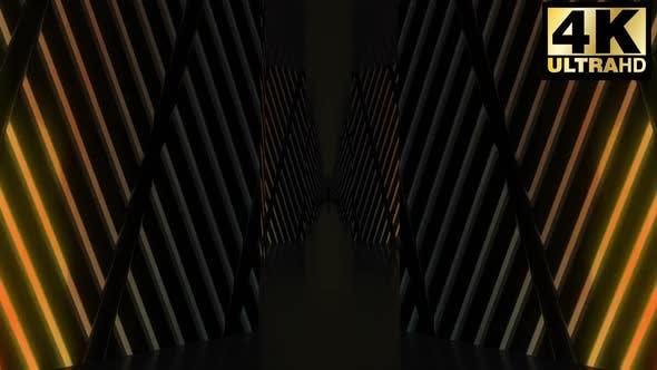 Thumbnail for 4k Colorfull Neon Blocks Vj Pack