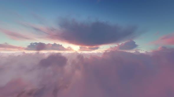 Thumbnail for The Plane Flying In Sky 02 4K