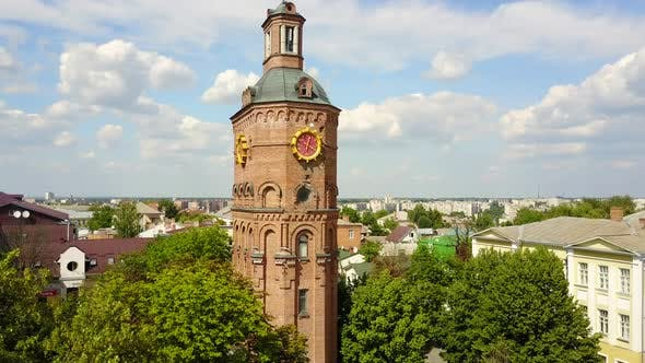 Famous Water Tower In Vinnytsia, Ukraine