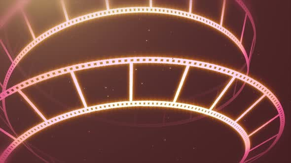 Thumbnail for Pink Film Reel Rotation