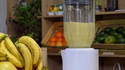 Fresh Healthy Tropical Smoothie