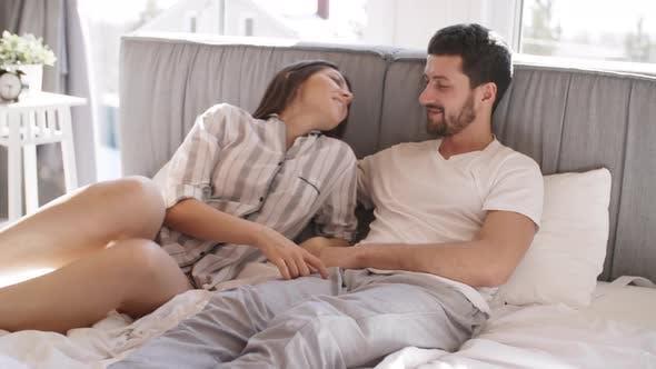 Thumbnail for Couple Enjoying Lazy Morning