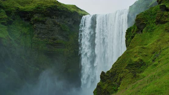 Thumbnail for Skogafoss Waterfall in Iceland