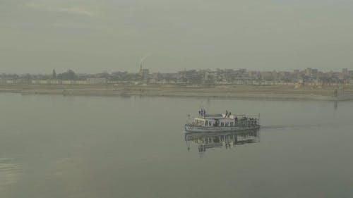 The Nile River at Dawn. Cairo. Egypt.