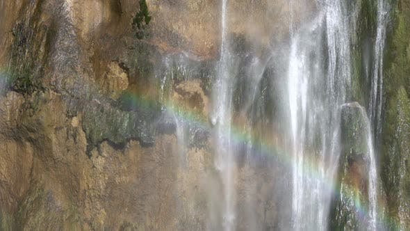 Thumbnail for Rainbow on a Waterfall