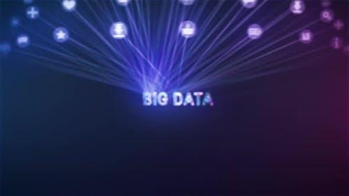 Big Digital Data Concept Apps