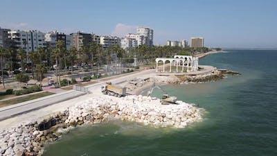Coast Landscape Architecture Aerial View