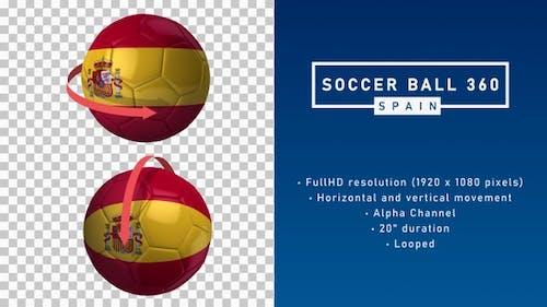 Soccer Ball 360º - Spain