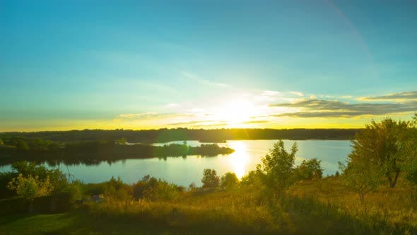 Thumbnail for Sunset on the Lake