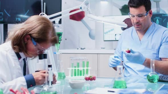 Thumbnail for Food Genetics Laboratory with Busy Team