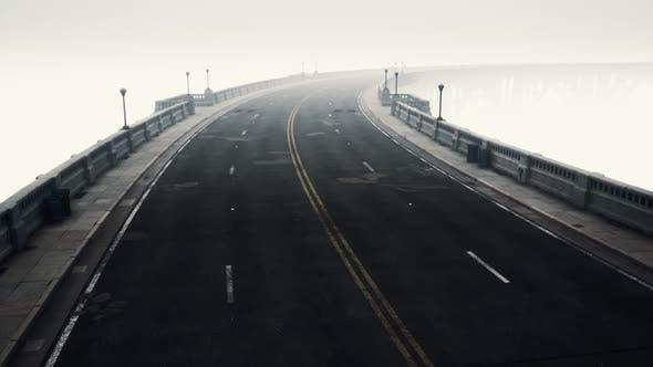 Thumbnail for Long Bridge in Misty Fog