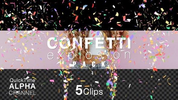 Happy Birthday Celebration Multi-Color Confetti