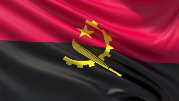 Thumbnail for Die Flagge von Angola