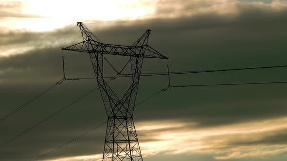 Cover Image for High Voltage Power Pylon