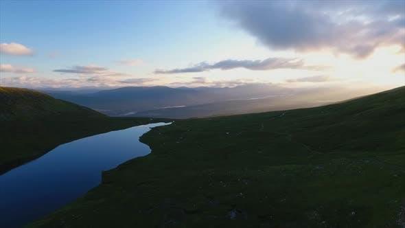 Mountain Lake Blue Hour