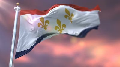 New Orleans Flag, United States