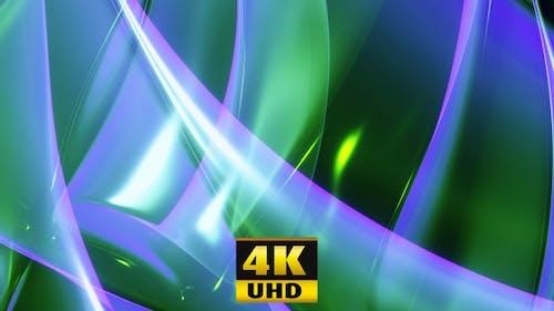 Fantastic Abstract Gloss Green 4K