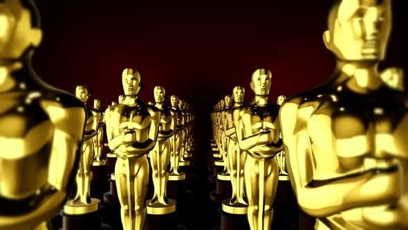 Thumbnail for Award Statue 4k 02