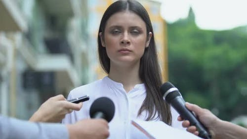 Furious Female Controlling Emotions, Irritated Annoying Correspondents, Stress
