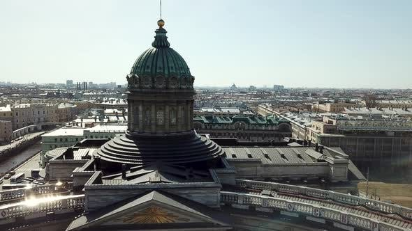 Thumbnail for Aerial View On Saint Petersburg City