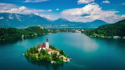 Slovenia Beautiful Nature - Resort Lake Bled