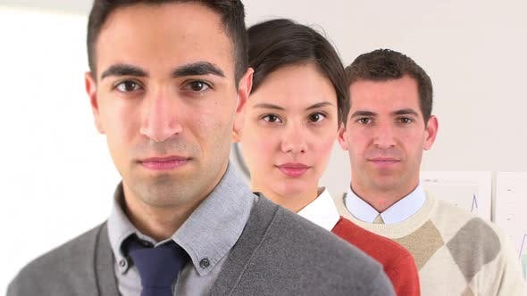 Cover Image for Confident team of business colleagues