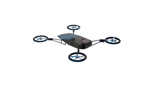 Land research drone