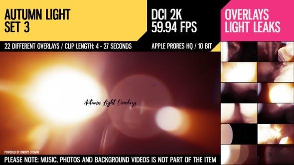 Autumn Light Overlays (2K Set 3)