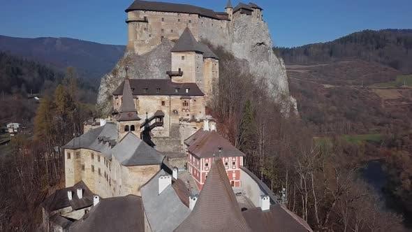 Thumbnail for Flying Over Orava Castle, Slovakia
