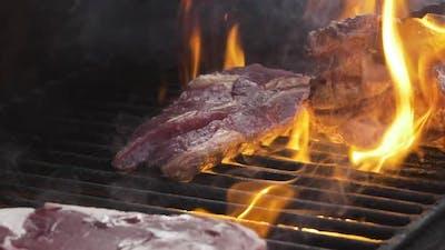 Steaks On Fire