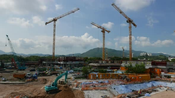 Building site timelapse