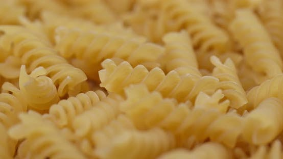 Thumbnail for Heap of fusilli close up
