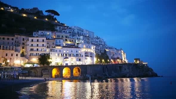 Thumbnail for Beautiful Coastal Towns of Italy - Scenic Amalfi in Amalfi Coast
