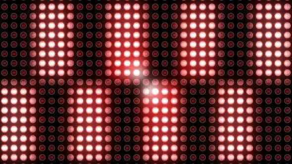 Flackerndes Disco-Licht im Club