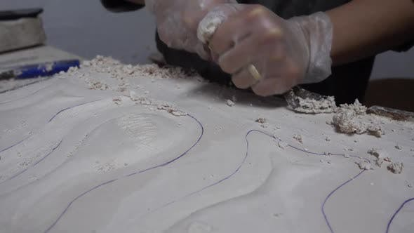 Thumbnail for Chopping Porcelain Hawker
