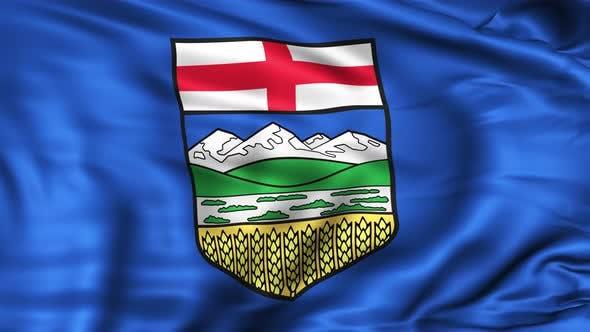 Thumbnail for Alberta Province Flag