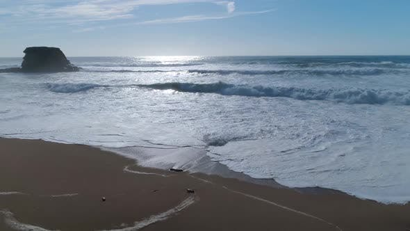 Thumbnail for Tropical Beach and Blue Sea with Waves