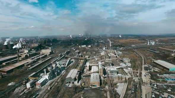 Thumbnail for Aerial of Metallurgical Plant