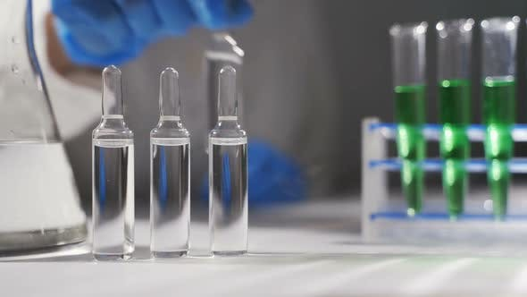Epidemic Test and Analysis Coronavirus, a Vaccine and a Cure for the Virus Appeared in Wuhan, China
