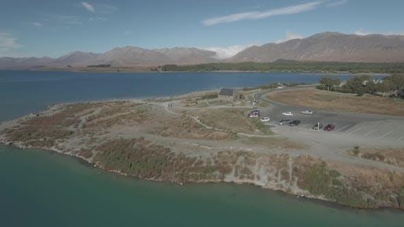Lake Tekapo aerial