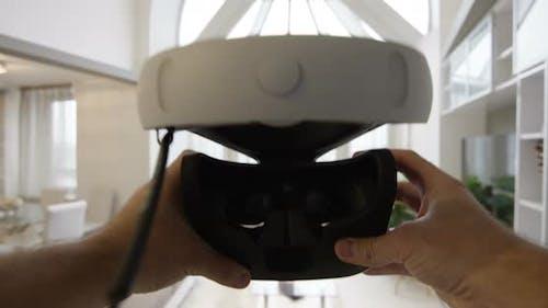 Professional VR Helmet