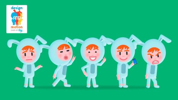 D&M Character Kit Tiny: Bunny Man