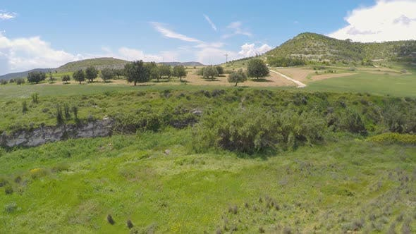 Thumbnail for Endless Clear Blue Sky Stretching Above Rich Expanses of Cyprus Meadows