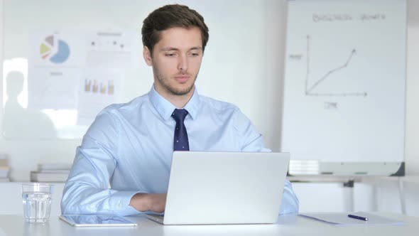 Thumbnail for Agree Young Businessman Accepting Offer in Office