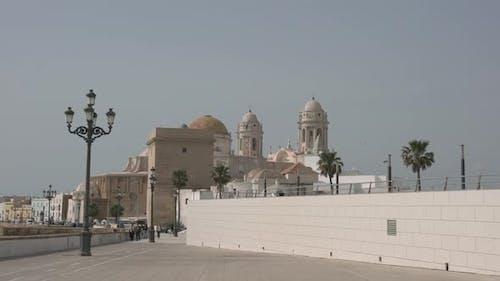 A promenade in Cadiz