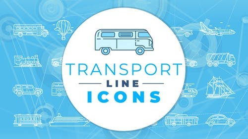 Transport Icons Pack