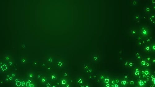 Geometric Particles Background